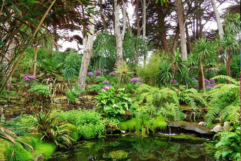 Ile de Batz, le jardin Georges Delaselle