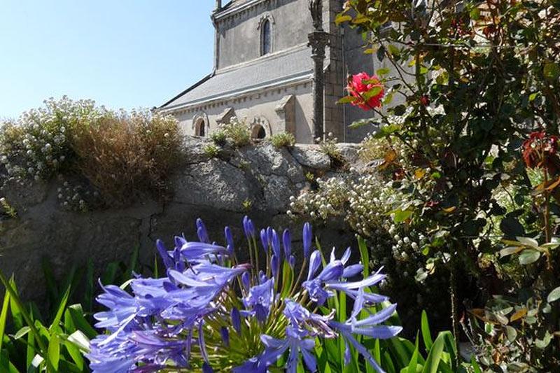 Ile de Batz, église Notre Dame du Bon Secours