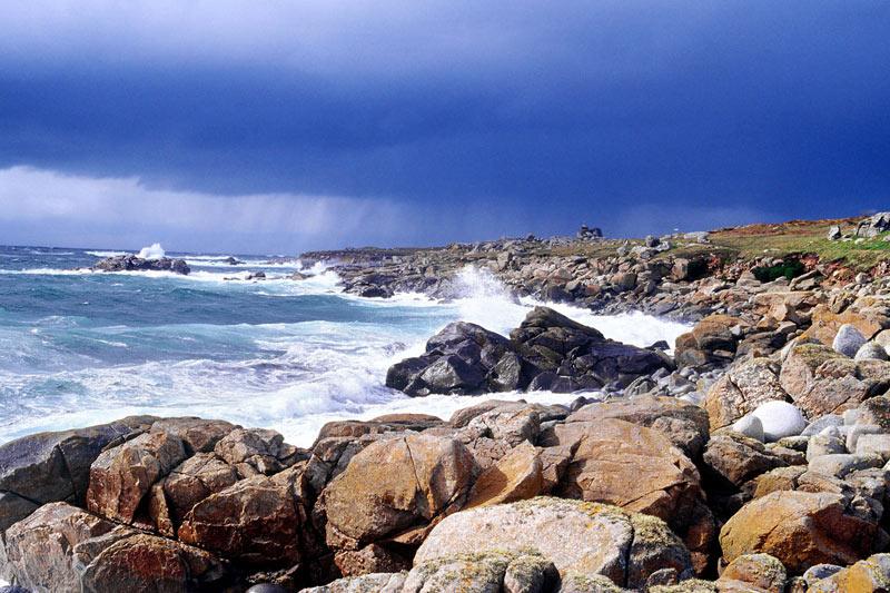 Ile de Batz,  la côte sauvage